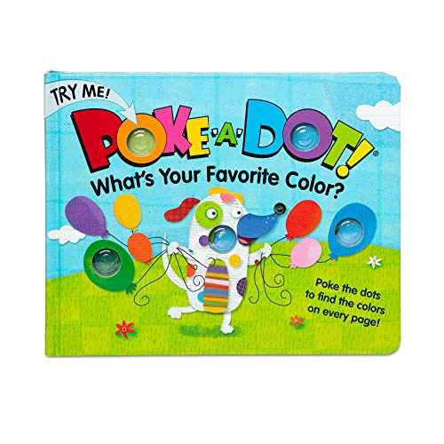 Melissa & Doug Children's Book - Poke-a-Dot: What's Your Favorite Color (Board Book with Buttons to Pop)