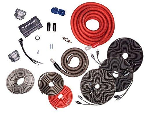 Rockford Fosgate RFK1D Dual Amp Complete Kit