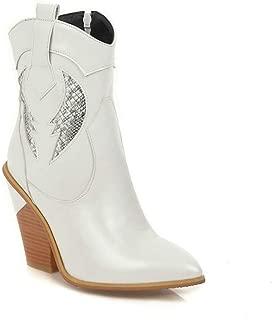 BalaMasa Womens ABS14142 Pu Boots