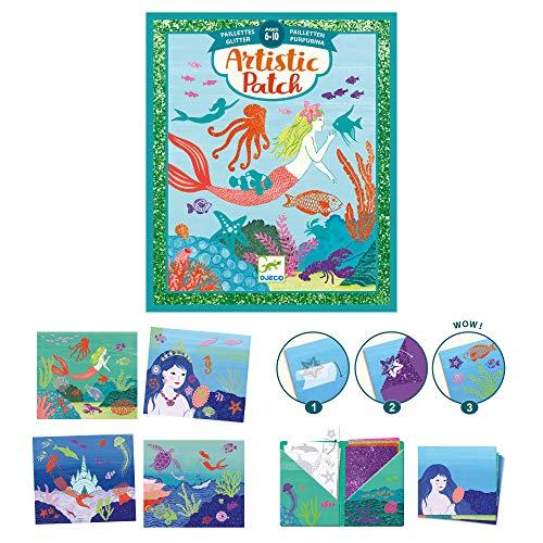 Djeco Artistic Patch Oceano (39466), Multicolore, 1