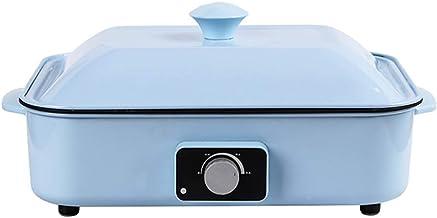 Elektrische Barbecuepan, Elektrische Rookloze Grill Met Deksel Antikleef Bakpan Teppanyaki Grill Bakplaat Voor Binnen Met ...