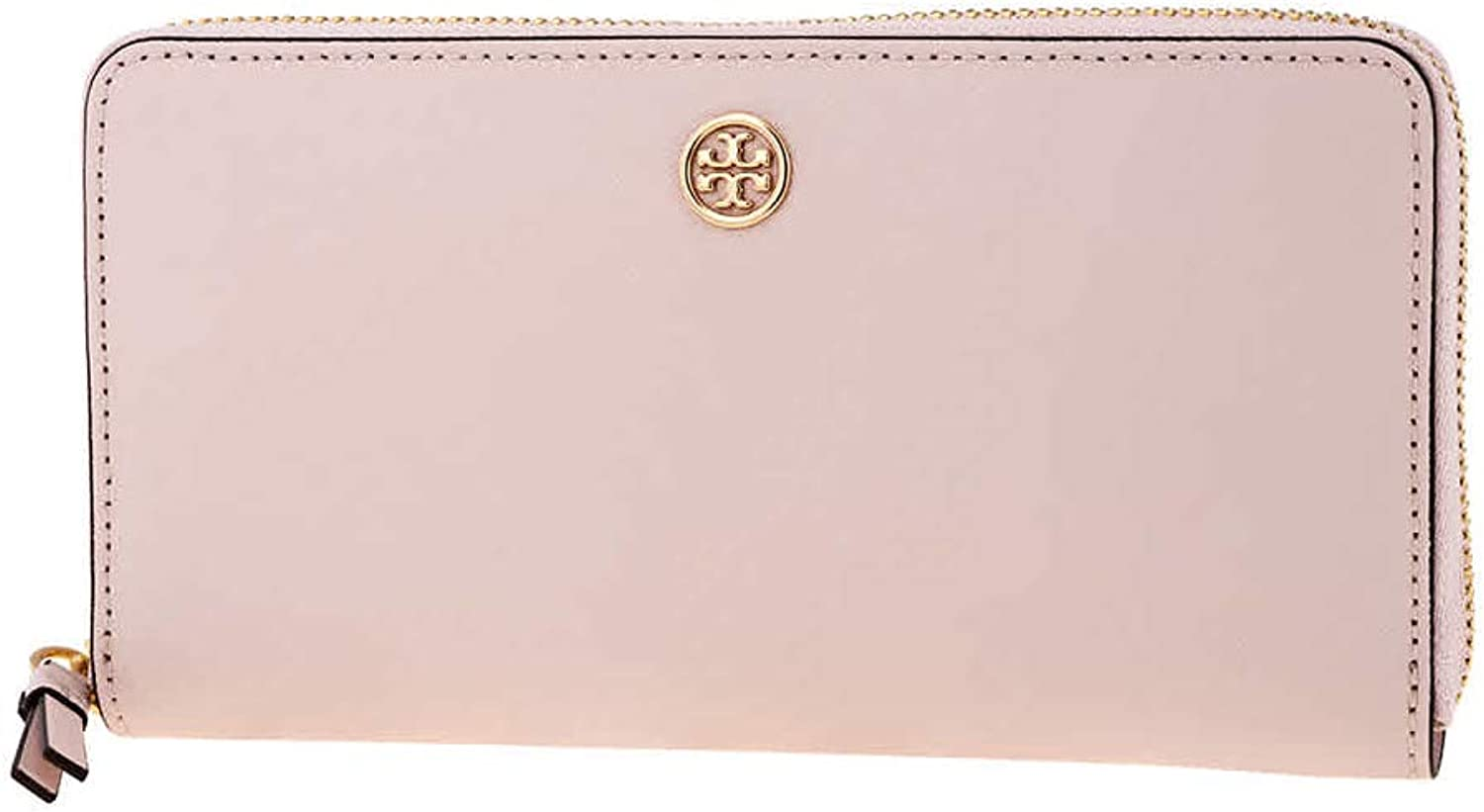 Tory Burch Robinson Zip Continental Wallet Shell Pink