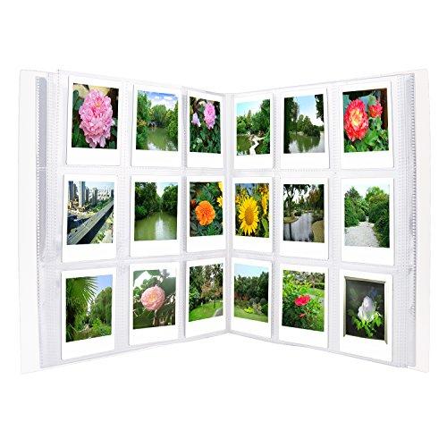 Sunmns 288 Taschen Klar Mini-Fotoalbum für Fujifilm Instax Mini 11 9 8 90 8+ 7S 26 70 Kamera Film, Link Smartphone Drucker Filme