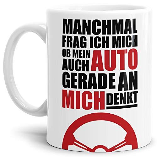 Auto-Tasse mit Spruch