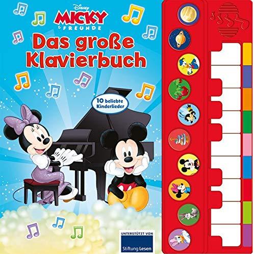 Micky Mouse - Spiel Klavier mit uns -...