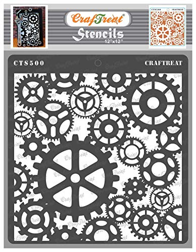 Stick the stencils on all 4 sides and apply paint/Ink over the surface.Made of bendable white plastic with intricate designs. Seamless patterns enables you to use them on larger surface. Uses: Use them on Fabrics, Paper, Wall, Artefacts, Vessels and ...