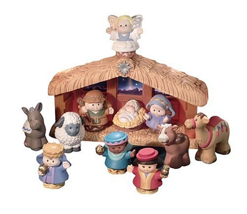 Fisher-Price - Little People Weihnachtskrippe