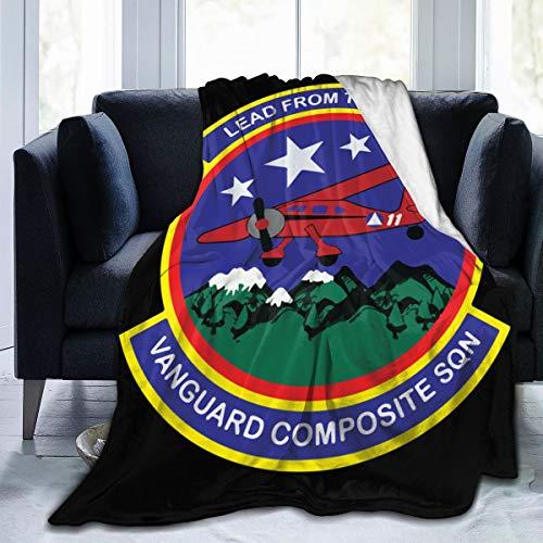 diy-nncase Throw Civil Air Patrol U Blanket Fit Sofa- Fluffy Fleece Blanket Super Warm for Couch