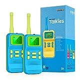 Selieve Spielzeug ab 3-8 Jahren Junge, Kinder Walkie Talkie Funkgerät mit 3KM Reichweite 8 Kanal LCD-Taschenlampe Outdoor Indoor Spielzeug Kinder, Geschenk für Kinder 3-12 Jährige Jungs und Mädchen