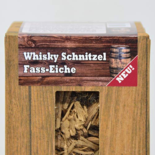 Landree Rum/Whisky/Wein - Räucherschnitzel 1,5L aus Original Fass-Eiche Barrel-Cuttings (Whisky)