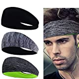 Best Sports And Fitness Accessories For Men - Linlook Sports Headbands for Men/Women - 3 Pack Review