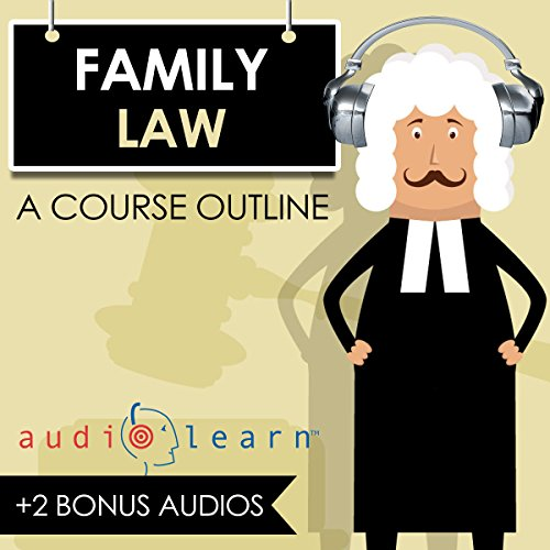 Family Law AudioLearn audiobook cover art