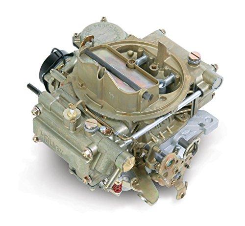 Holley 0-80452 600 CFM Square Four Barrel Vacuum Secondary Electric Choke Street Carburetor