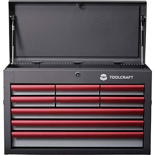 TOOLCRAFT 887090 Werkstattwagen Herstellerfarbe:Grau, Anthrazit, Rot
