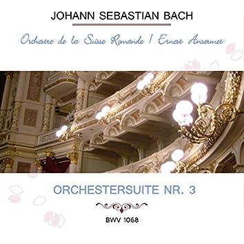 Orchestre De La Suisse Romande / Ernest Ansermet Play: Johann Sebastian Bach: Orchestersuite NR. 3, Bwv 1068 (Live)