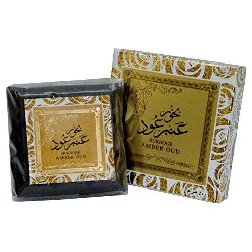 Amber Oud Bakhoor - Polvo de incienso con almizcle y sándalo
