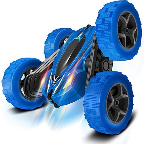 Control Remoto CAR RC CARS - Drift Velocidad de alta velocidad Desactivado Camión de truco, Juguete de carreras con 1 baterías recargables, tracción en las 4 ruedas, Regalos de cumpleaños frescos para