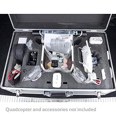 DJI Phantom 3 Quadcopter Flight Case Large Protective Foam Insert 585x365x250mm