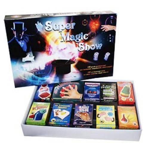 Super Magic Show - Magic Kit - Kit Magici - Giochi di Magia