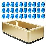 Holibanna Cubrezapatos de Dispensador Máquina de Cubierta de Zapato Automático Reutilizable con 100pcs Cubierta del Zapato