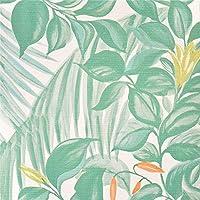 壁紙屋本舗 壁紙サンプル ボタニカル柄 植物 南国葉 花 SBA-3138