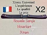 Xtrem 2 Sangles Universel Hoverkart pour Fixation Hover Go Kart Overkart Over Carte...