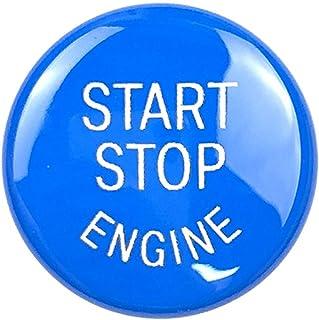 Baoblaze ABS – Decoração de acabamento de botão de partida do motor de plástico para BMW E Chassis de fácil instalação