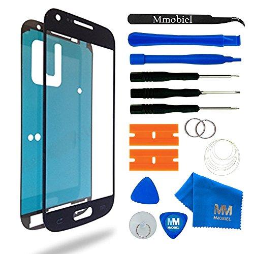 MMOBIEL Schermo tattile di Ricambio Compatibile con Samsung Galaxy S4 Mini i9190 i9195 Series (Nero) incl Kit con Attrezzi