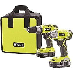 Best Ryobi Drill and Impact Driver Combo Kit