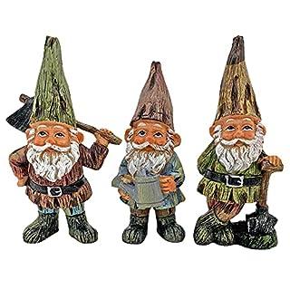 Traditional Design Garden Gnome Ornaments