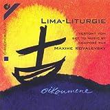 Lima-Liturgie: Liturgie des Mahles: Zum Auszug