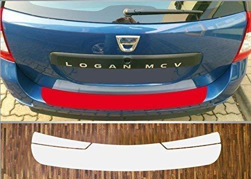 Un Ajustement Parfait pour Dacia Logan 2 MCV , Partir 2013 Peinture Protection Pare-Chocs Transparent