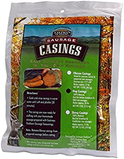 Eastman Outdoors Natural Hog Casing - Makes 25 lb Sausage Hunting Field Dressing Accessories