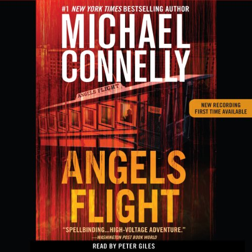 Angels Flight audiobook cover art