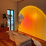 Sunset lamp,Sunset Projection lamp,Night Light Projector,Sunset Light,Light Projector,Sunset Projector,Sunset lamp Projector,Rainbow lamp,Projector Lights for Bedroom(Sunset Red)