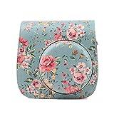 Kameratasche, PU-Kameratasche mit Blumendruck, Laptoptasche, Messenger und Schultertasche (Größe: 135 x 134 x 65 mm, Farbe: 4)