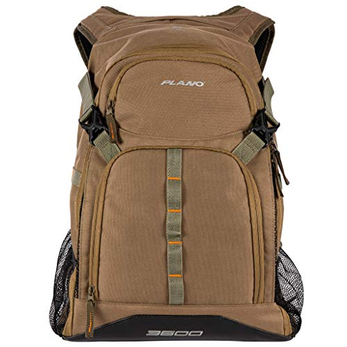 Plano E-Series 3600 Tackle Backpack, Includes Three 3600 Tackle Storage Stows, Olive