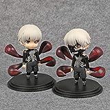 Figuras Anime Tokyo Ghoul Figuras De Acción Kaneki Ken Modelo De Juguete Q.Figuras Anime 100Mm PVC J...