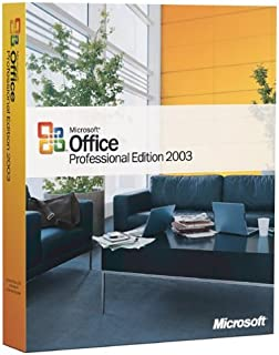 Microsoft Office Professional 2003 - Old Version