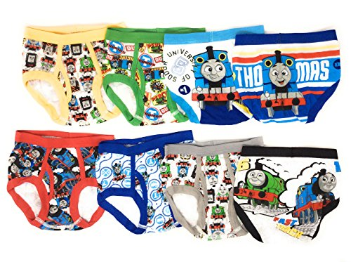 TEN28 by Handcraft Thomas The Train Boys Briefs Value 8-Pack Underwear Sizes 2T-8 Percy