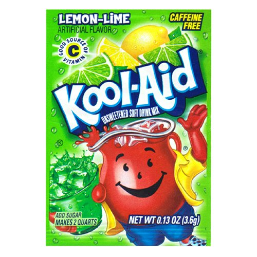 Kool Aid Lemon Lime Drink Mix (48 Packets)
