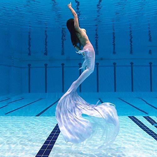 Costumi da Bagno Sirena Coda da Sirena Swimwear Mermaid Costume da Bagno Insiemi del Bikini per...