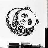 ASFGA Cartoon Panda Bär Wandtattoo Tier Ornament