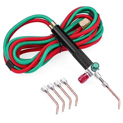 Matefield Pistola de acetileno oxigenada de oxígeno para el kit de soldadura de gas mini antorcha pequeña para metal