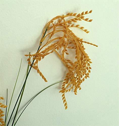 Künstliche dekorative Blumen Simulation Reis Fake Reis Groß Reis Weizen gefälschte Blume Wohnzimmer Tisch Modell Zimmer Geschäft Boden Dekoration 95 cm Blumen-Produkte beinhaltet: Künstliche Blumen