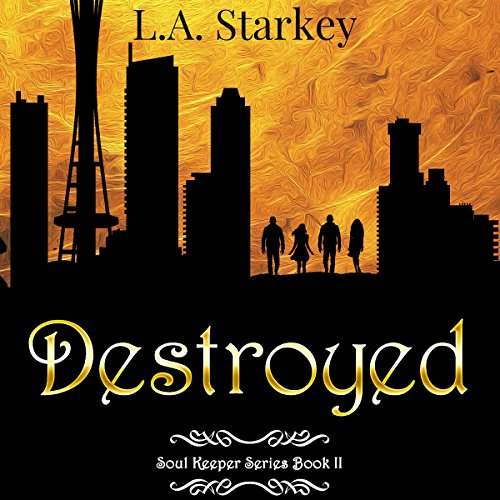 Destroyed audiobook cover art