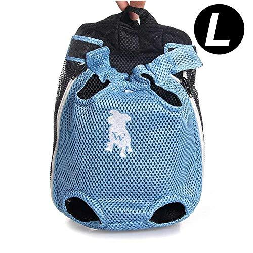Hondenrugzak, huisdier, hond kat van paardrijden, fietstas, rugzak, hond draagbare reis, breath rugzak voor Teddy Bomei hondentas Medium blauw