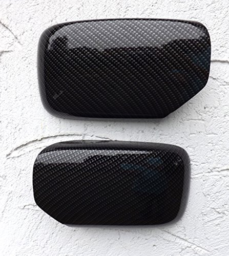 Miroir Capuchons Kit de Effet carbone pour Série 3/5 E34/E36 l'eau tansfer pression neuf