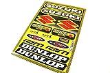 Aufkleber Sticker Set Dekor Satz DUNLOP GSXR GS Katana Motorrad #19