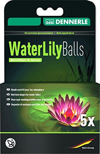Dennerle Water Lily Balls, sachet de 5